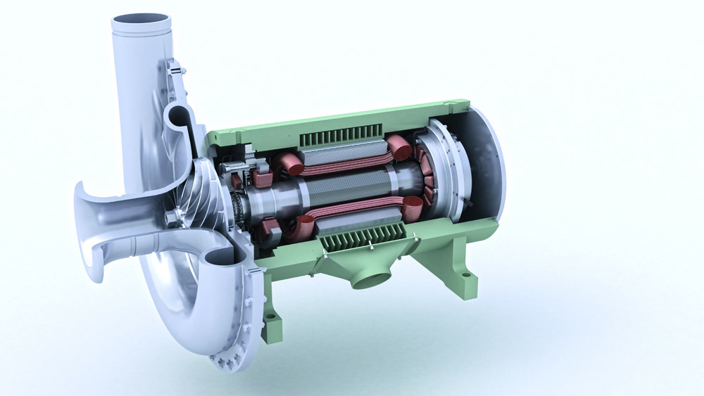 SKF Aeration blower picture 3 Releasing the Power of SKF Knowledge Engineering [Hannover Messe 2013]