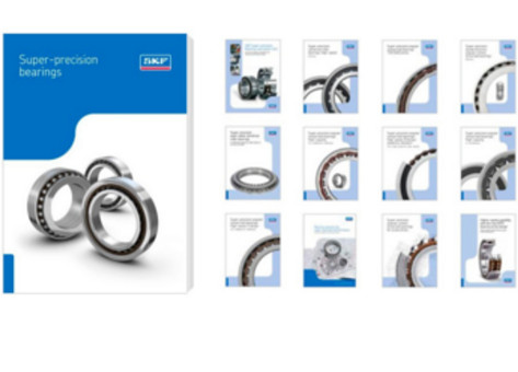 SKF releases the new super-precision bearings catalogue