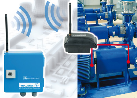 Wireless Vibration Analysis Made More Comfortable