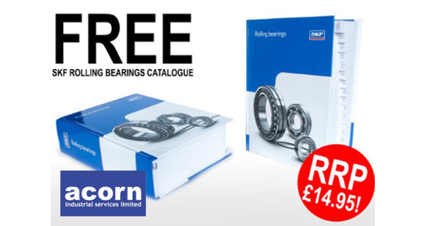 Get your FREE copy of SKF's Rolling Bearing Catalogue