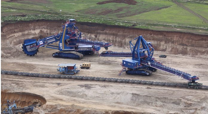 Liebherr Supplies A Bearing For The World S Largest Compact Bucket Wheel Excavator Bearing News